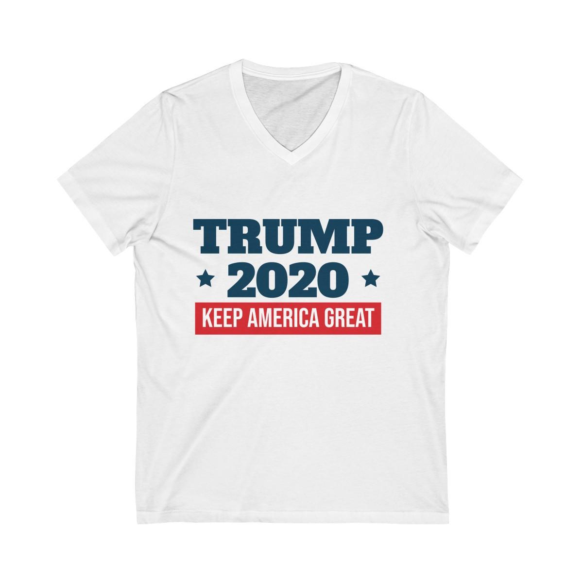 c0b4ef921 Trump 2020 Shirt - Keep America Great V-Neck Tee - Trump 2020 ...
